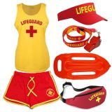 LADIES LIFEGUARD + COOLTEX VEST + SHORTS SETS